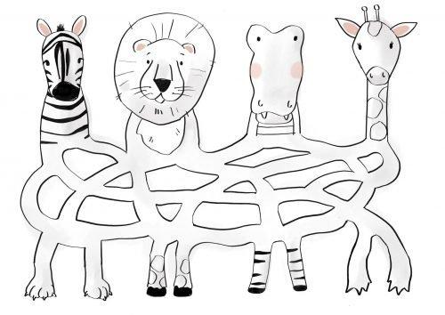Fonkelbox Het verlegen dier