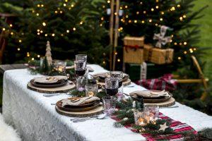 Kerstfeest Woodland